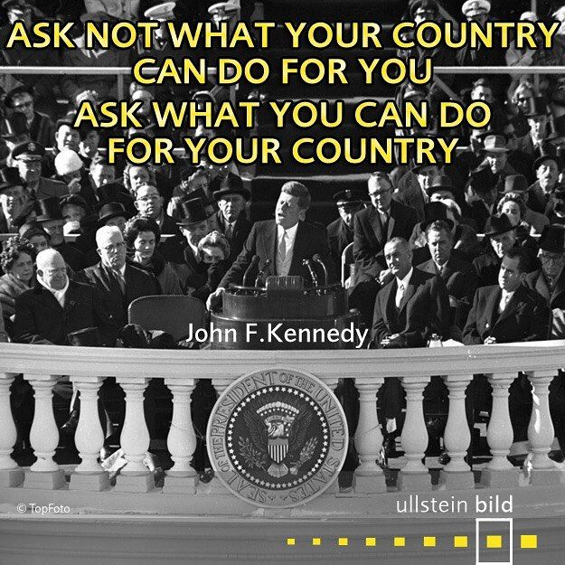 """""""Ask not what your country can do for you, ask what you can do for your country."""" John Fitzgerald Kennedy was born 100 years ago today. #JFK served as the 35th President of the United States from January 1961 until his assassination on 22nd November 1963. He was the youngest man to have been elected to the office, the only Roman Catholic president and the only president to win a Pulitzer Prize for his biography """"Profiles of Courage"""". In his famous inaugural address he spoke of the need for…"""