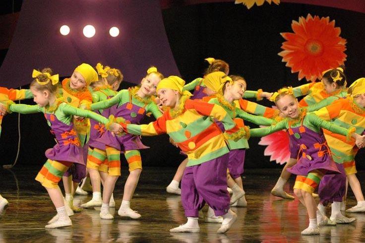 Танцевальный детский костюм для современного танца