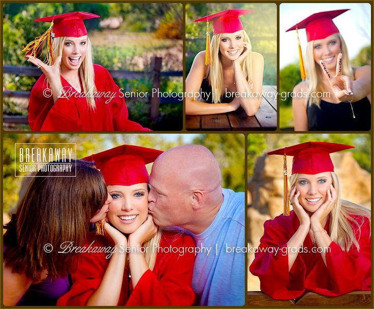 Breakaway Senior Photography | cap & gown portraits | non-traditional | Orange County, CA \