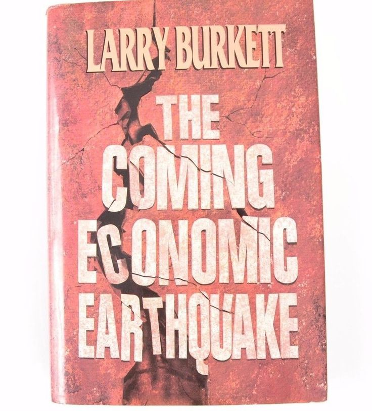 The Coming Economic Earthquake by Larry Burkett (Hardcover) 1991 #Textbook