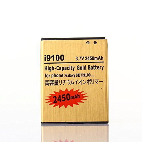 Buy 2 pcs Gold Extended Samsung Galaxy S2 SGH-i777 High Capacity Battery EB-L1A2GBA EB-F1A2GBU For Samsung Galaxy S II SGH-i777 / Samsung Galaxy S II I9100 / Samsung Galaxy S2 SGH-i777 / Samsung Galaxy S2 I9100 2450 mAh NEW for 11.49 USD | Reusell