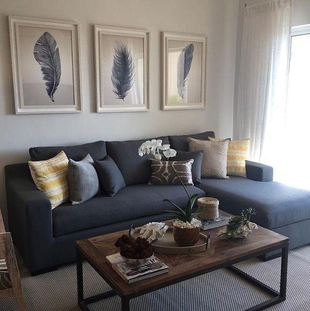 30 idéias neutras de sala de estar cinza da terra para copiar 5   – Wohnen