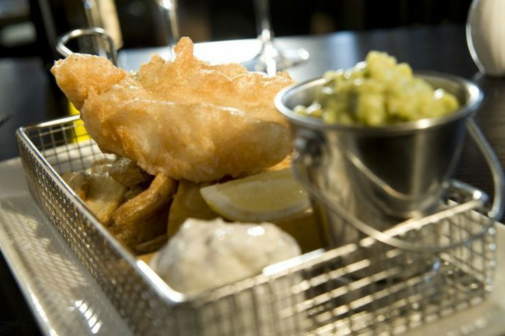 Classic haddock and chips