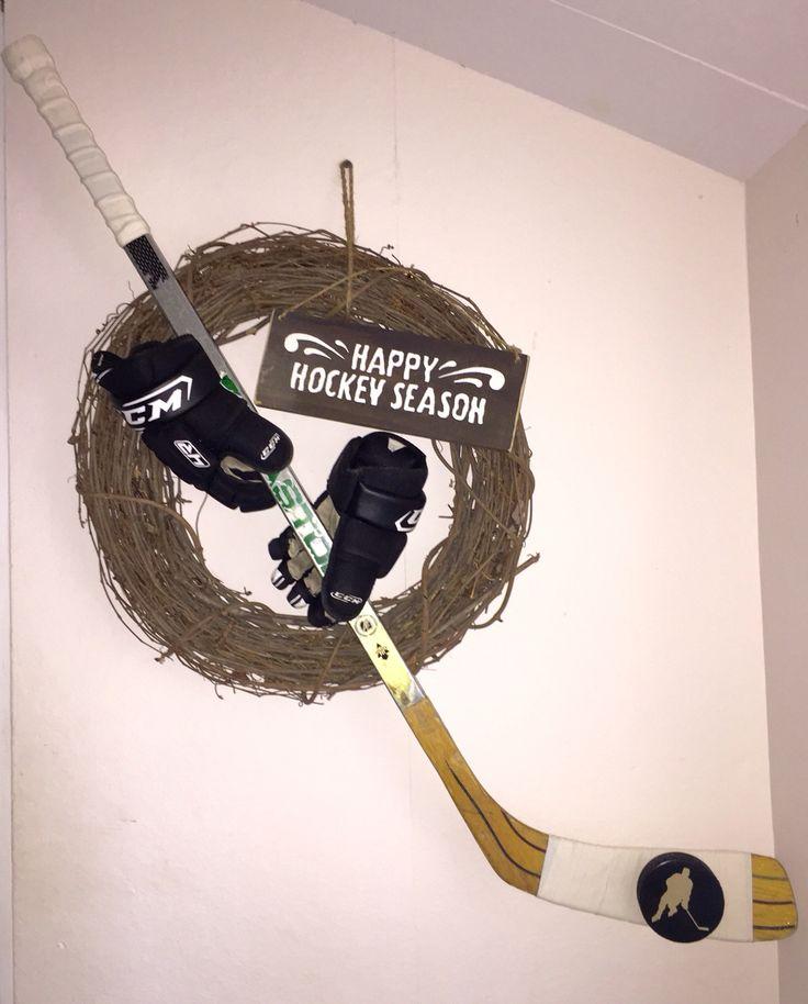 Hockey Stick Coat Racks: 7 Best My DIY Hockey Projects Images On Pinterest