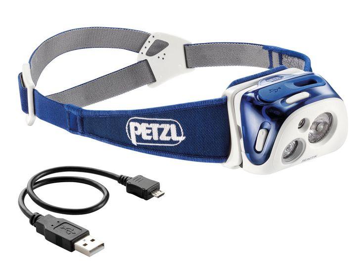 Petzl REACTIK® Headlamp Using Petzl's new Reactive Lightning Technology, the REACTIK® has a light sensor which adapts the light output to your needs.