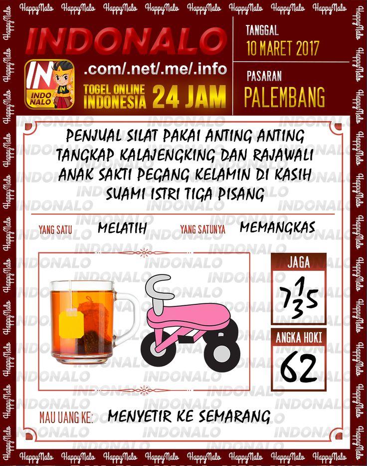 Kode Alam 2D Togel Wap Online Indonalo Palembang 10 Maret 2017