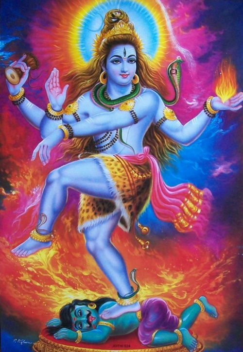 Shiva as Natraj, the Cosmic Dancer