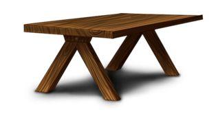 Oleron-puutarhapöytä
