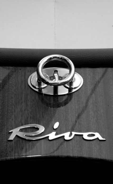 Fine hardware from the unRIVAled Riva motorboats.