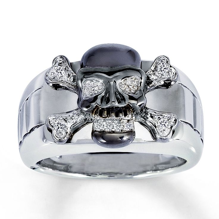 Engagement Rings With Skulls July 2017
