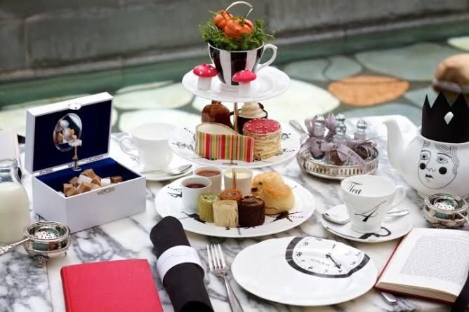 ~ London's 5 Best Spots for Afternoon Tea ~
