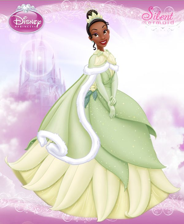 Disney Princesses - Winter Tiana by ~SilentMermaid21 on deviantART