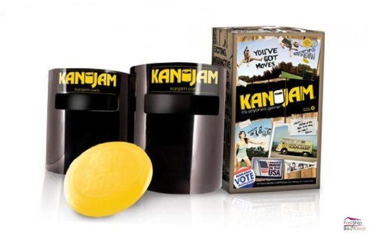 Kan Jam Game Set Outdoor Play Flying Disc Throwing Family Party Backyard Fun New #KanJam