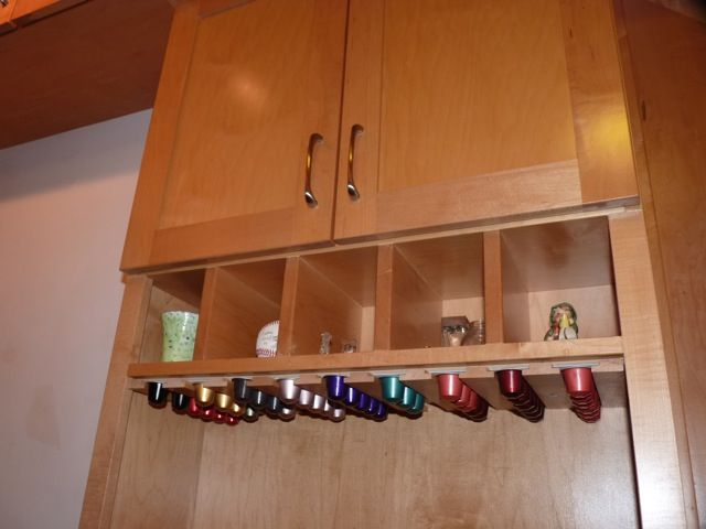 Custom Under Cabinet Nespresso Cup Holder Made By My
