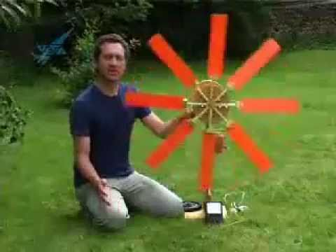 Homemade Wind Generators - Learn How Wind Power Works | In this video we demonstrate three different types of home made electricity wind generators.   http://www.solarenergyformyhome.com/