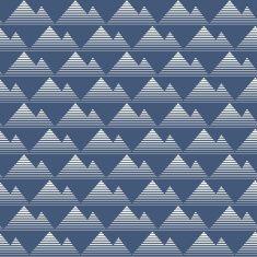 Mountain seamless pattern backgrond vector vector art illustration