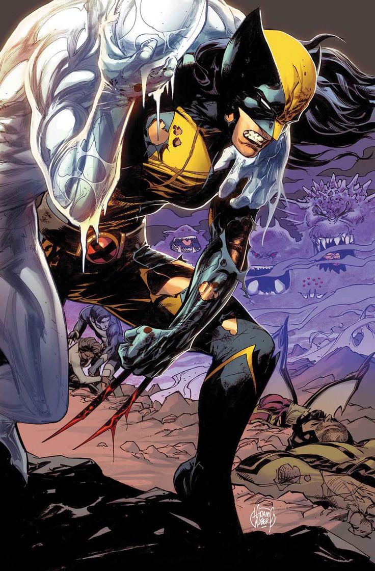 X-23 - All-New X-Men #1.MU - Cover by Adam Kubert