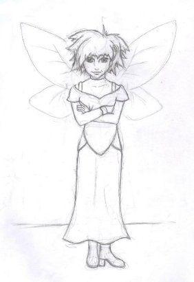 Fairy Character Design   By Corinne Jade Shardlow
