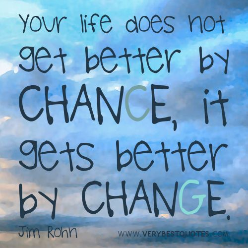 Positivity Can Changeyour Life: Life Changes Quotes: Your Life