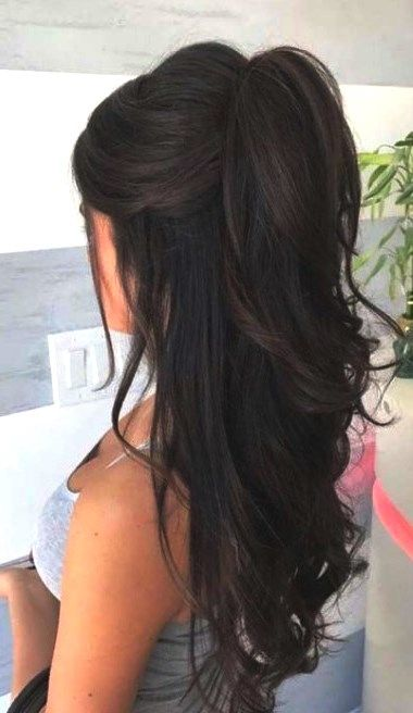 30 adorable ponytail hairstyle #dailyfeedpins.com #hairstyle #ponytail #potytail…
