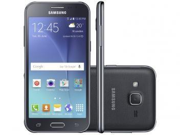"""Smartphone Samsung Galaxy J2 TV Duos 8GB Preto - Dual Chip 4G Câm. 5MP Tela 4.7""""… de R$ 849,90 por R$ 649,90 em até 7x de R$ 92,84 sem juros no cartão de crédito  Produto disponível para algumas regiões do Brasil"""