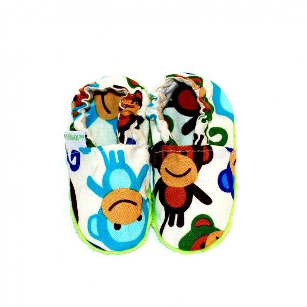 bawełniane buciki niemowlęce
