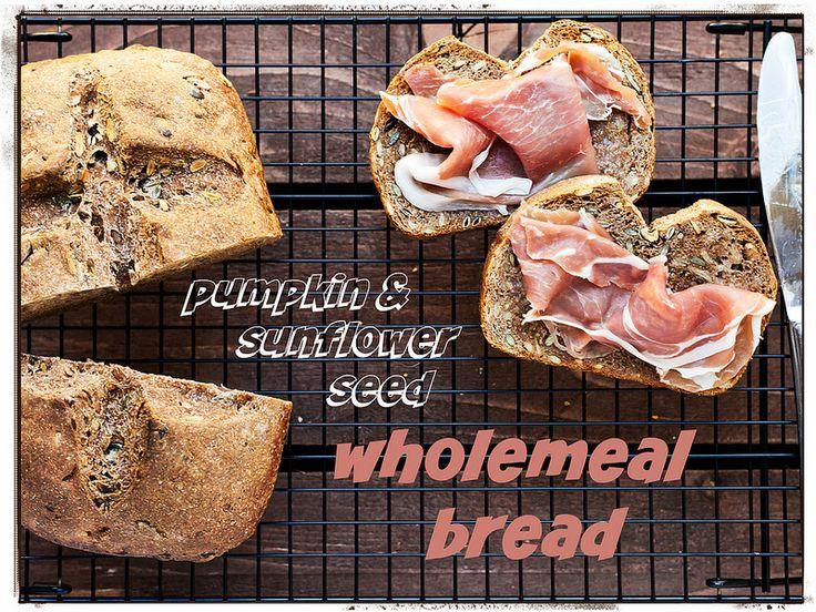 Pumpkin & Sunflower Wholemeal Bread