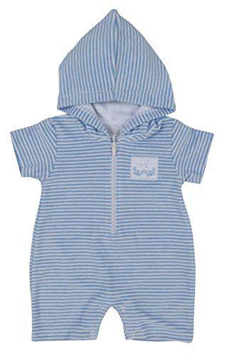 f301c0b1e833 New Kissy Kissy Baby-Boys Infant Curious Crabs Terrycloth Stripe ...