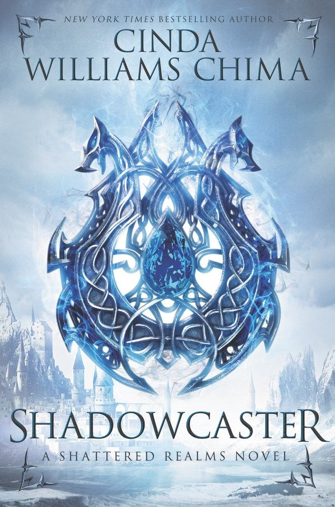 Shadowcaster by Cinda Williams Chima -The Official Harper Winter 2017 Cover Reveal List via Epic Reads