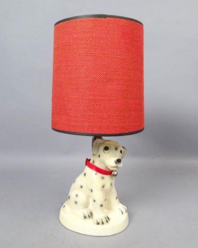 Charming-Vintage-1961-Figural-Dog-101-Dalmatians-Childrens-Table-Lamp