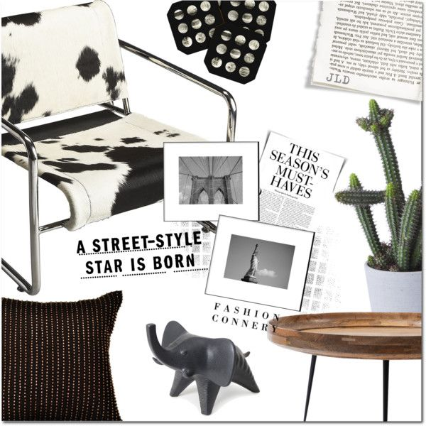 Star is born by justlovedesign on Polyvore featuring interior, interiors, interior design, home, home decor, interior decorating, Dot & Bo, mater, HAY and DENY Designs