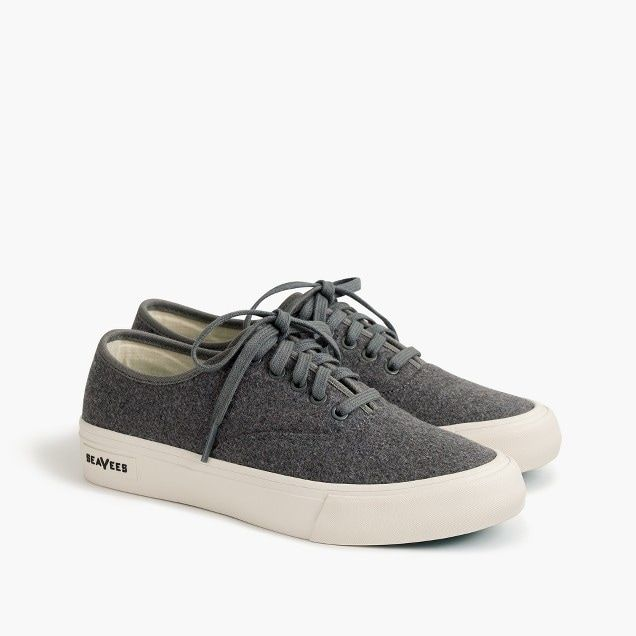 SeaVees® for J.Crew Legend sneakers in flannel : Women shoes | J.