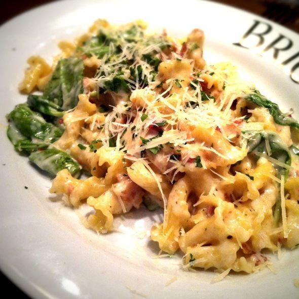 Italian Chain Restaurant Recipes: Campanelli Carbonara
