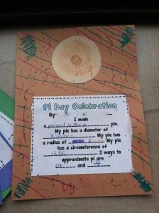Pi Day Celebration Activity!