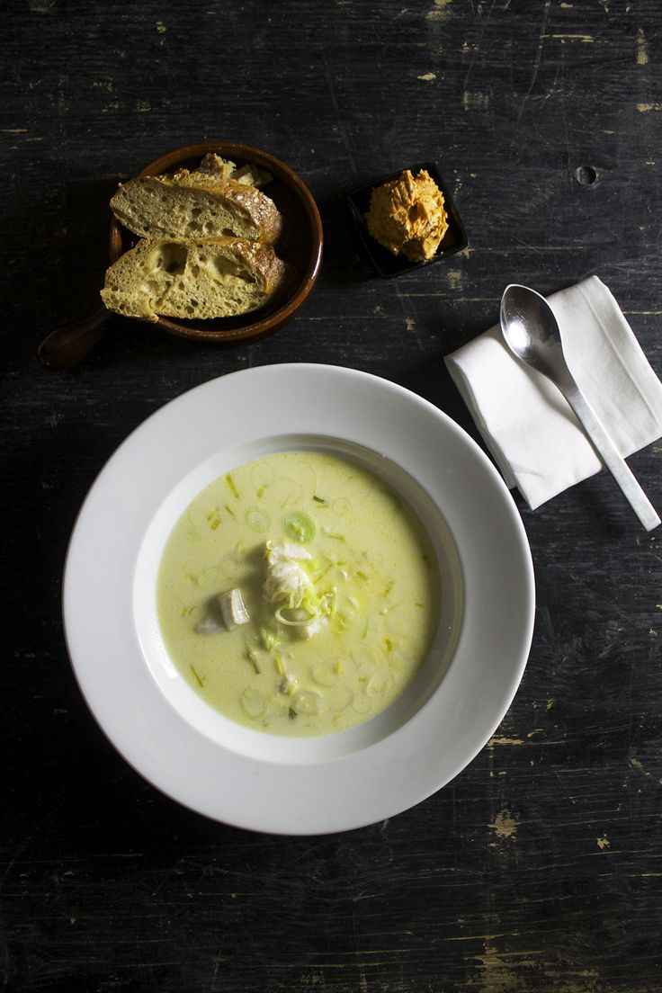 Cremet fiskesuppe // Creamy fish soup