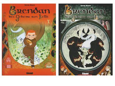 Het Boek van Aderyn: Brendan en het geheim van Kells - schrijfles
