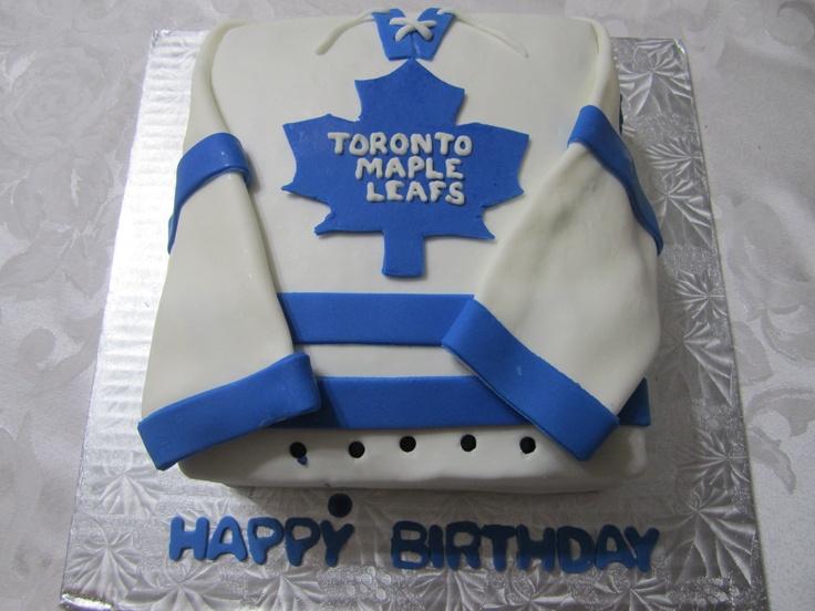 Toronto Maple Leafs Dave Keon Birthday Cake!