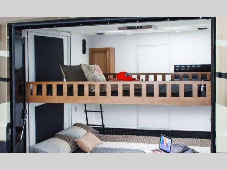 Canyon Star Motor Home Class A - Toy Hauler   RV Sales   1 Floorplan