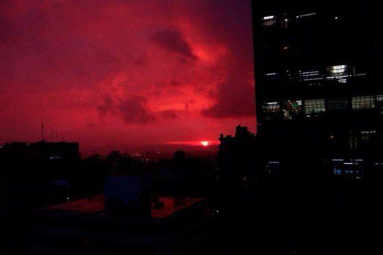 El atardecer de película de este martes 13 en Bogotá_ @El Espectador