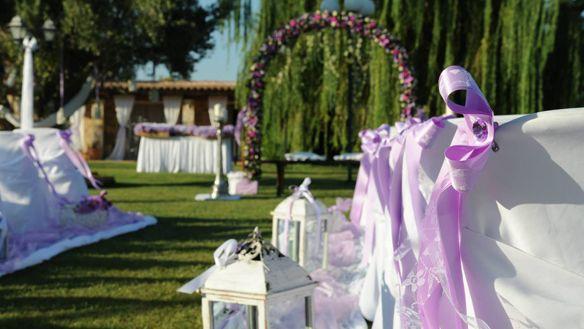 Γαμήλιο στόλισμα σε κτήματα γάμου