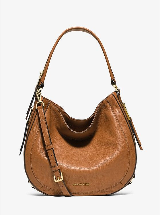 Julia Medium Leather Shoulder Bag (375€)