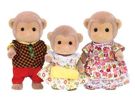 Mango Monkey Family
