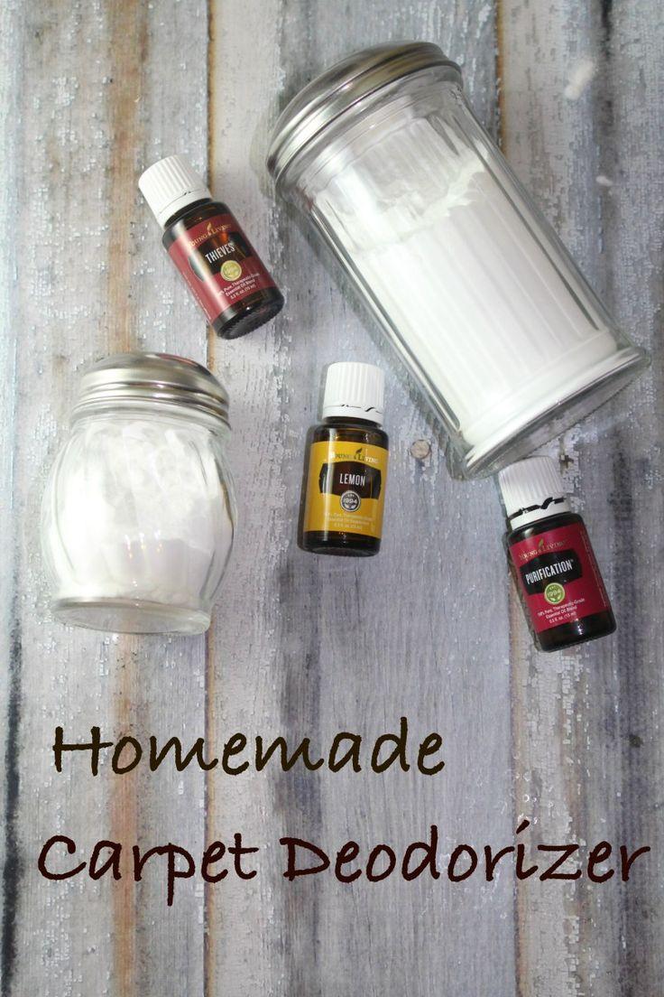 Easy 2 Ingredient Homemade Carpet Deodorizer You Can Make