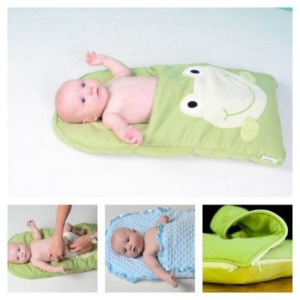 How To Make Pillowcase Baby Sleeping Bag