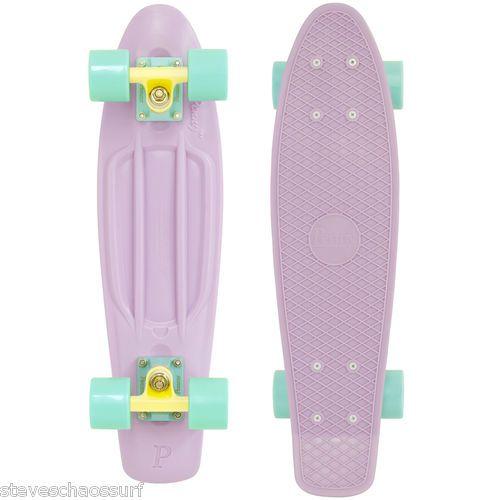 Genuine Penny Skateboard Pastels Original Cruiser 22 IN Mint Lemon Lilac Girls   eBay
