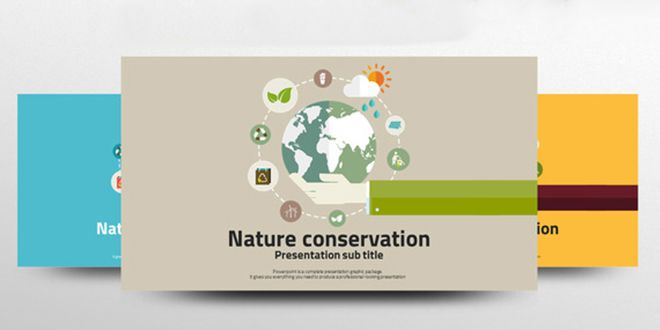 7 Environment PowerPoint Templates – with Great Infographics
