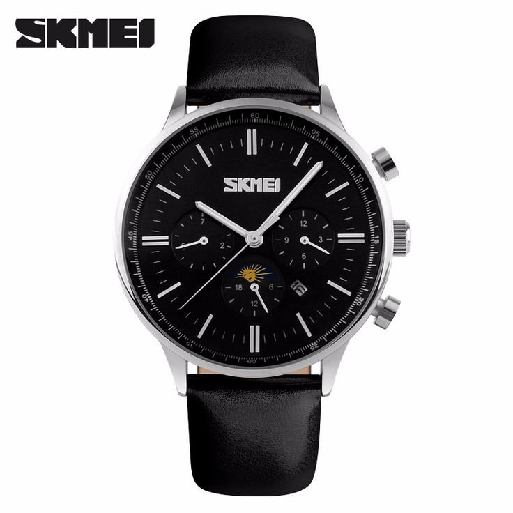 $39.14 (Buy here: https://alitems.com/g/1e8d114494ebda23ff8b16525dc3e8/?i=5&ulp=https%3A%2F%2Fwww.aliexpress.com%2Fitem%2FSKMEI-Brand-Watches-New-Leather-Casual-Dress-Men-Moon-Phase-Analog-Quartz-Watch-30M-Business-Wristwatches%2F32657068183.html ) SKMEI Brand Watches New Leather Casual Dress Men Moon Phase Analog Quartz-Watch 30M Business Wristwatches reloj hombre for just $39.14