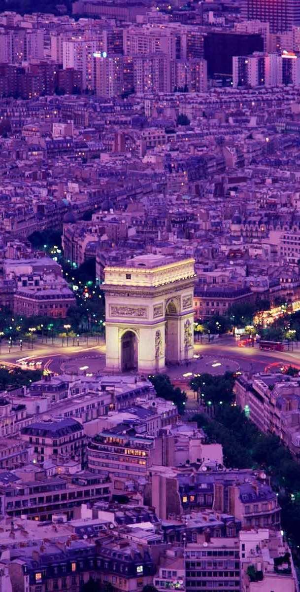 Paris...arc de triumph, a honeymoon visit...