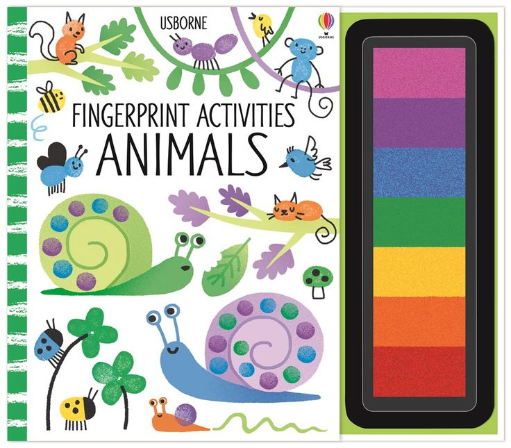 "Find out more about ""Fingerprint activities: Animals"", write a review or buy online."