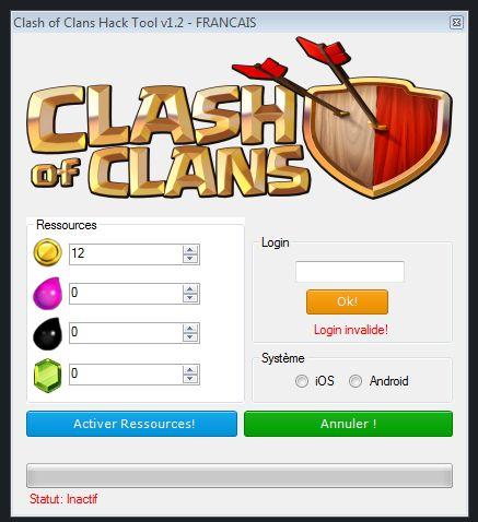 Comment avoir de Clash of Clans Hack et Triche? Telecharger maintenant!